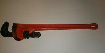 Ridged 24inch stilsons pipe wrench