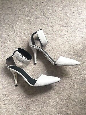3590cfc438e ALEXANDER WANG ANKLE Strap Heels Size 36 - £48.00