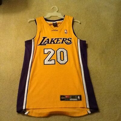 0a6e2fe45 Rare Authentic Nike Los Angeles Lakers Gary Payton NBA Jersey SZ 40 Medium  Kobe