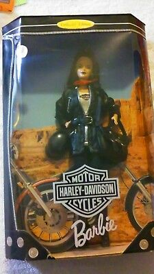 Harley-Davidson Barbie Doll  Collectors Edition 1998 New on Box