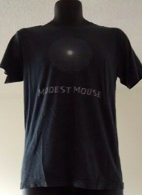 Modest Mouse Starburst T Shirt Heather Gray Size S
