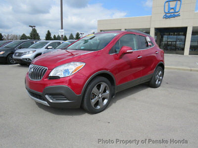 2014 Buick Encore FWD 4dr FWD 4dr SUV Automatic Gasoline 4 Cyl RED