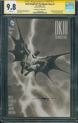 Batman DK III 1 CGC SS 9.8 Jae Lee Dark Knight Returns Homage DF Sketch Variant