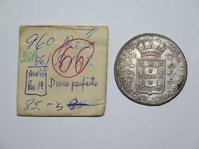Brazil 1813 R 960 Reis Struck Over 8 Reales Ex:kurt Prober Old Coin Collection K
