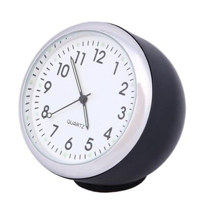 40mm Anti-Scratch Car Clock Mechanics Quartz Clock with Luminous Light.-# POP