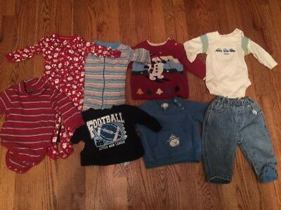 The Childrens Place Baby Boy clothes lot size 6-9months