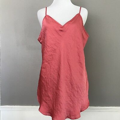 NEW Gap Long Soft Camisole Coral Gables Loose Double Layer Sizes XS-S-XL