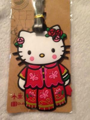 Hello Kitty Luggage Tag Bag Tag