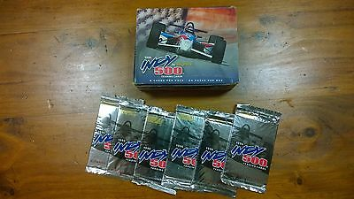 Skybox Indy Indianapolis 500 Trading Cards 1996 - rare, full box, 24 packs plus!