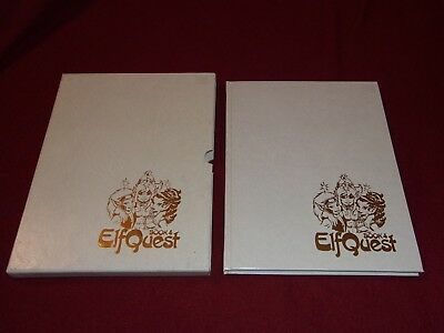 ElfQuest book 4 by Wendy & Richard Pini (1984, HC) SIGNED ltd slipcased Donning