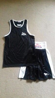 Lonsdale Boxing Vest And Shorts Small XSmall