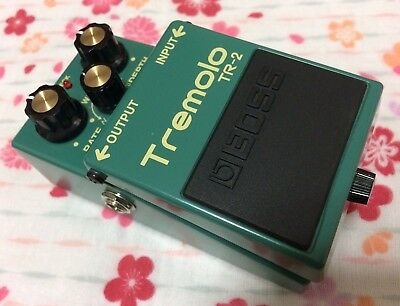 BOSS TR-2 Tremolo - Excellent Condition, boxed w/papers. PN-2/PN2/TR2