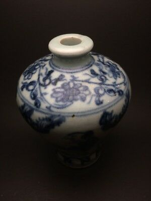 Antique Chinese Blue and White vase.
