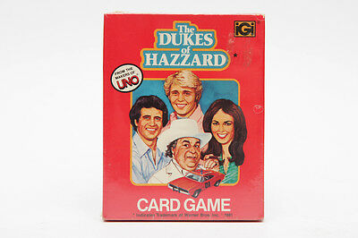 New and Sealed - DUKES OF HAZZARD Card Game from 1981 - UNO