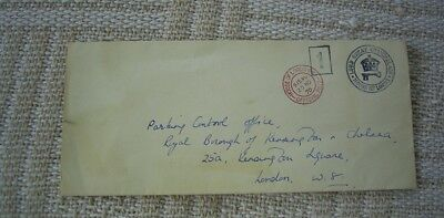 Great Britain 1970 Cover Sent By Lord Great Chamberlain's Office House Of Lords