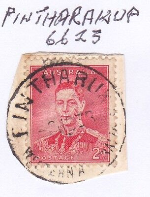 *WA POSTMARKS.PINTHARUKA.PO1918-66.Type A27.On 2d KGVi.CTS.Rated3.*