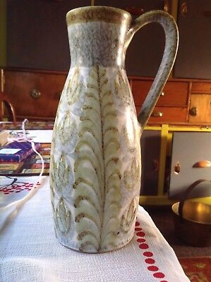 Glyn colledge bourne Denby jug ever vase  studio pottery pre 1983