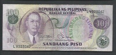 Philippines 1978 100 Piso P 164b Circulated