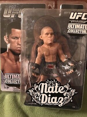 Nate Diaz Round 5 UFC Figure MMA Series 12 Mint