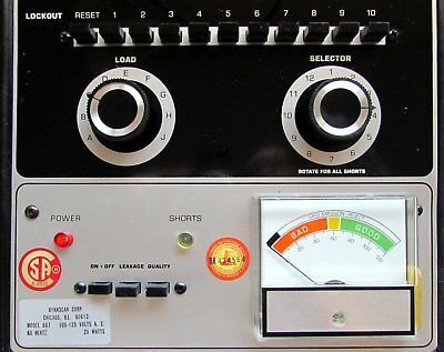 B&K 667 valve tube tester in great condition Made in USA