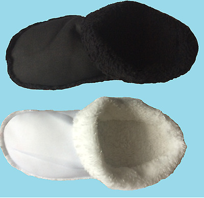 Crocs Mammoth Convert Your Crocs into Slippers Fleece Liners Insoles Fur Croc
