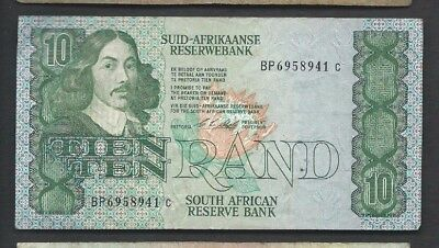South Africa 1990-93 10 Rand P 120e Circulated