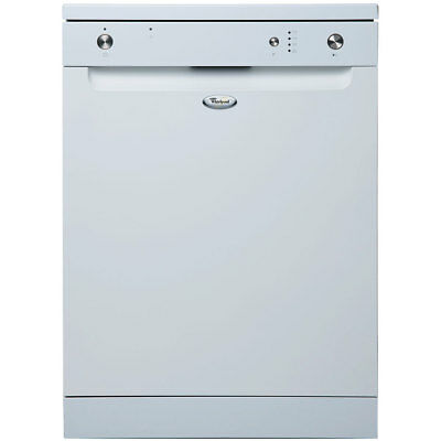Whirlpool 12 Place Electronic Dishwasher in White ADP5000WH