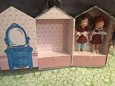 Madeline Carry Case House, Madeline Doll And Friend Danielle 8 Inch Eden