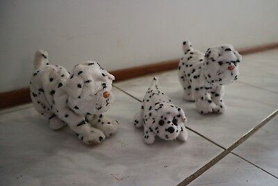 Family Of 3 Furreal Friends Dalmation Dogs ~ Parents And Baby