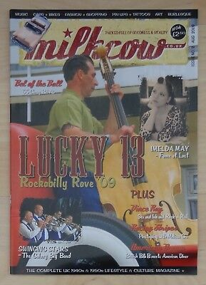 MILKCOW MAGAZINE ISSUE 2 retro 40s 50s hot rod kustom rock 'n' roll pin-ups