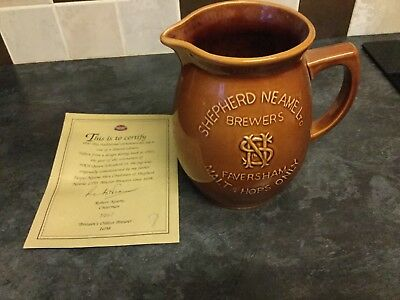 SHEPHERD NEAME  collectible limited edition JUG