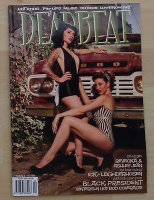 DEADBEAT ISSUE 11 retro 40s 50s hotrods pin-ups kustom rock 'n' roll pin-ups