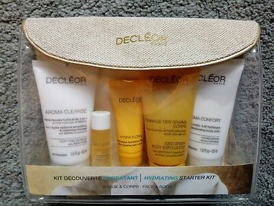 Bnib New Decleor Hydrating Starter Kit Face & Body Gift Set