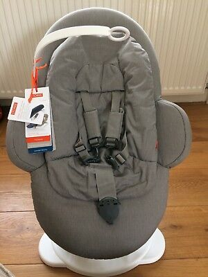 Stokke® Steps™ Bouncer In Greige (Compatible With The Stokke Steps High Chair)