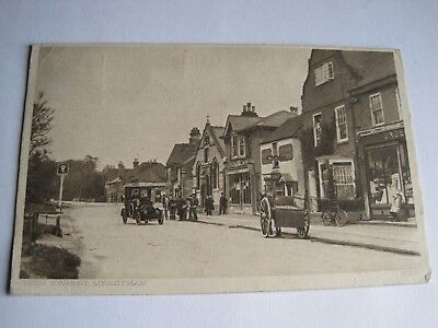 High St., Merstham Surrey 1913 busy street scene