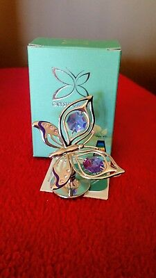 Crystocraft / Swarovski Crystal Butterfly