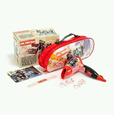New In Box  One Direction One Way Or Another Hair Dryer And Nail Kit