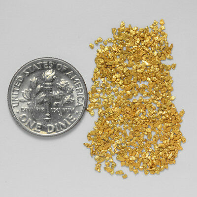 0.6658 Gram Alaskan Natural Gold Nuggets - (#20758) - Hand-Picked Quality