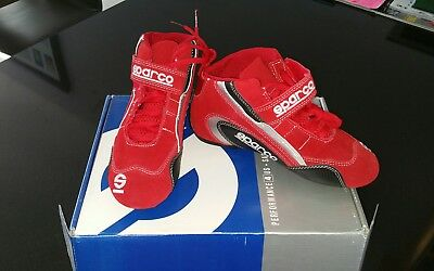 Sparco   Go kart race boots  uk 3.5 (36EU) BRAND NEW IN BOX.