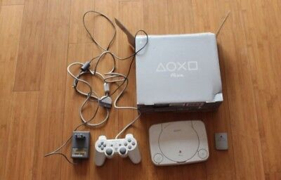 Console Sony PS one Blanc (PAL) + Jeux