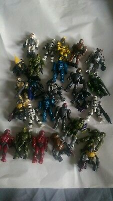 halo mega bloks figures 26 in total. Mixed sets all from various blind bags