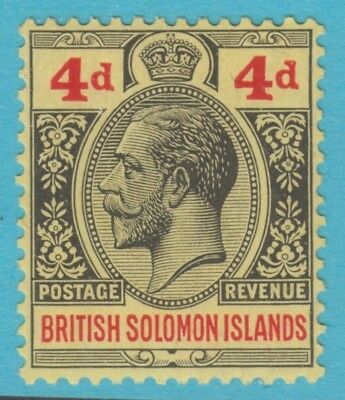 Solomon Islands 48  Mint Hinged Og *  No Faults Extra Fine !