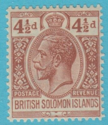 Solomon Islands 49  Mint Hinged Og *  No Faults Extra Fine !