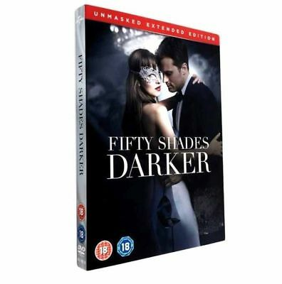 Fifty 50 Shades Darker Dvd Unmasked Extended Edition New Sealed Uk