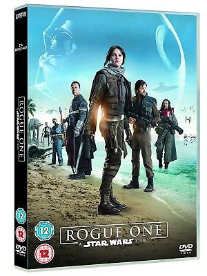 Rogue One A Star Wars Story DVD 2017 Region 2 New Sealed UK