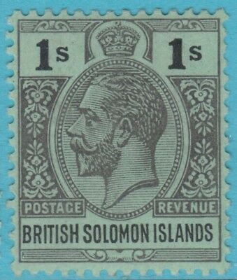 Solomon Islands 36  Mint Hinged Og *  No Faults Extra Fine !