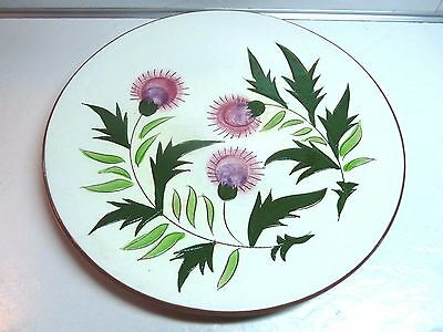 "Stangl THISTLE Pattern 10"" Dinner Plate"