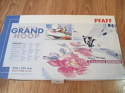 Pfaff 2100 Series Creative Grand Hoop 250 x 225 mm