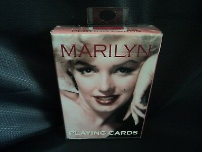 Marilyn Monroe Playing Cards- New/sealed - Buy It Now