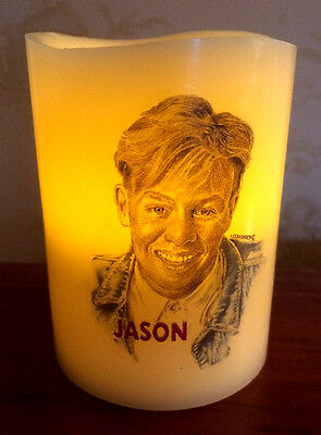 Jason Donovan Electronic Flameless Flickering Candle